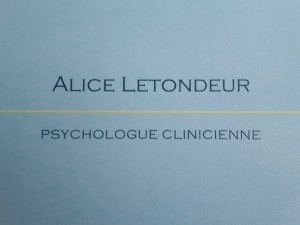 Alice Letondeur // Psychologue à Versailles Ado & Adulte